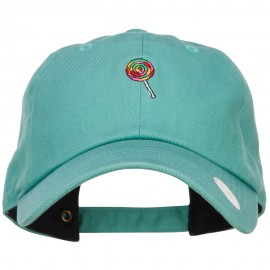 Mini Lollipop Embroidered Unstructured Cap