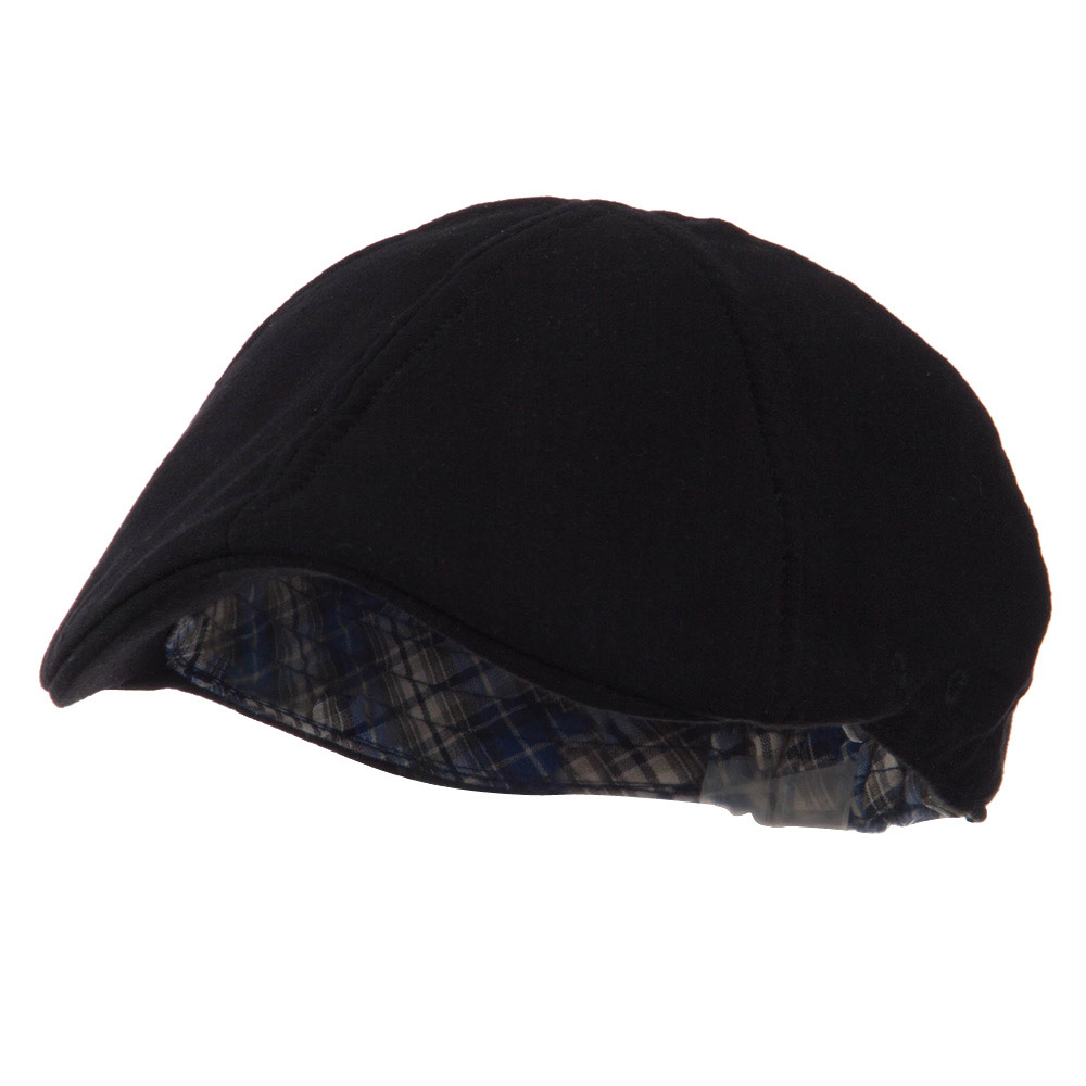 Plain Duck Bill Ivy Hat - Black - Hats and Caps Online Shop - Hip Head Gear