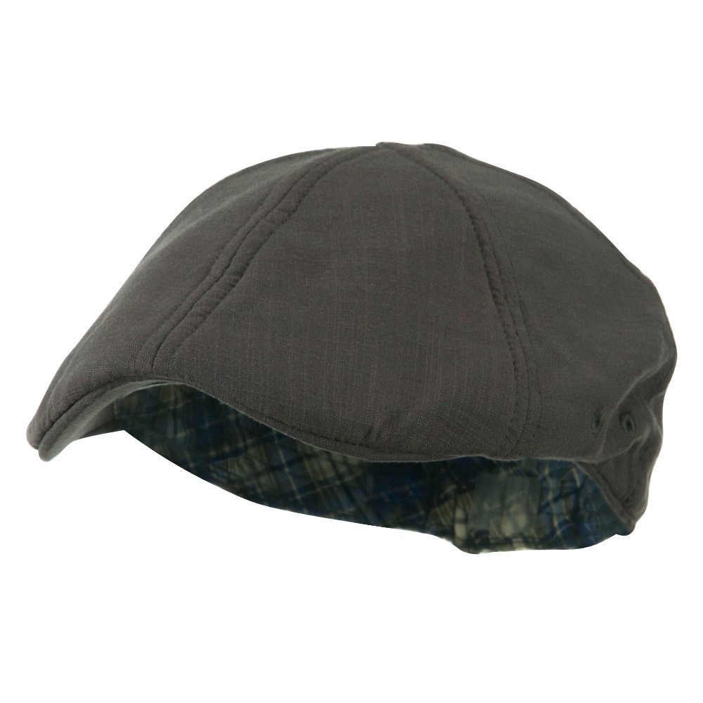 Plain Duck Bill Ivy Hat - Grey - Hats and Caps Online Shop - Hip Head Gear