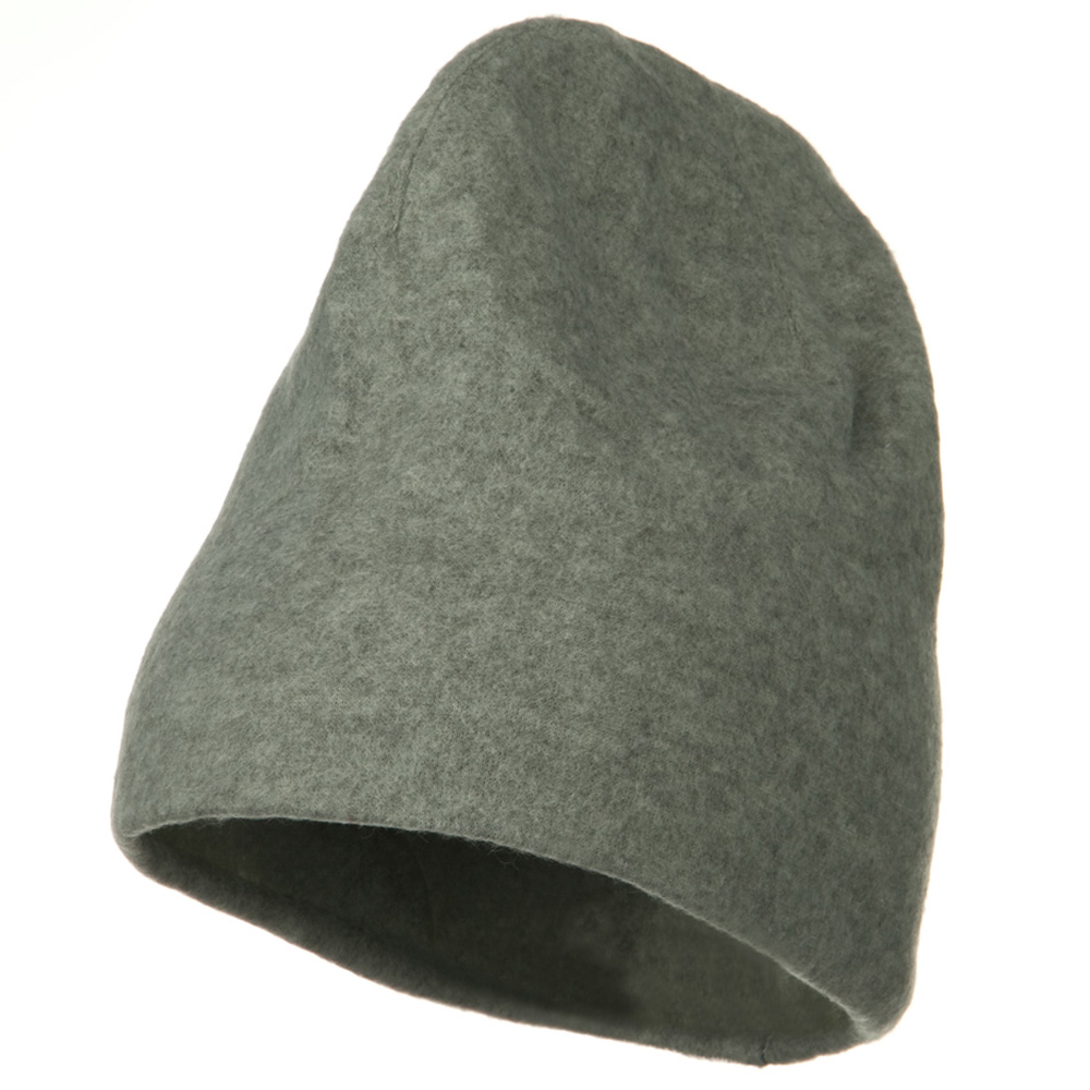 Deluxe Polar Fleece Beanie - Dark Grey - Hats and Caps Online Shop - Hip Head Gear