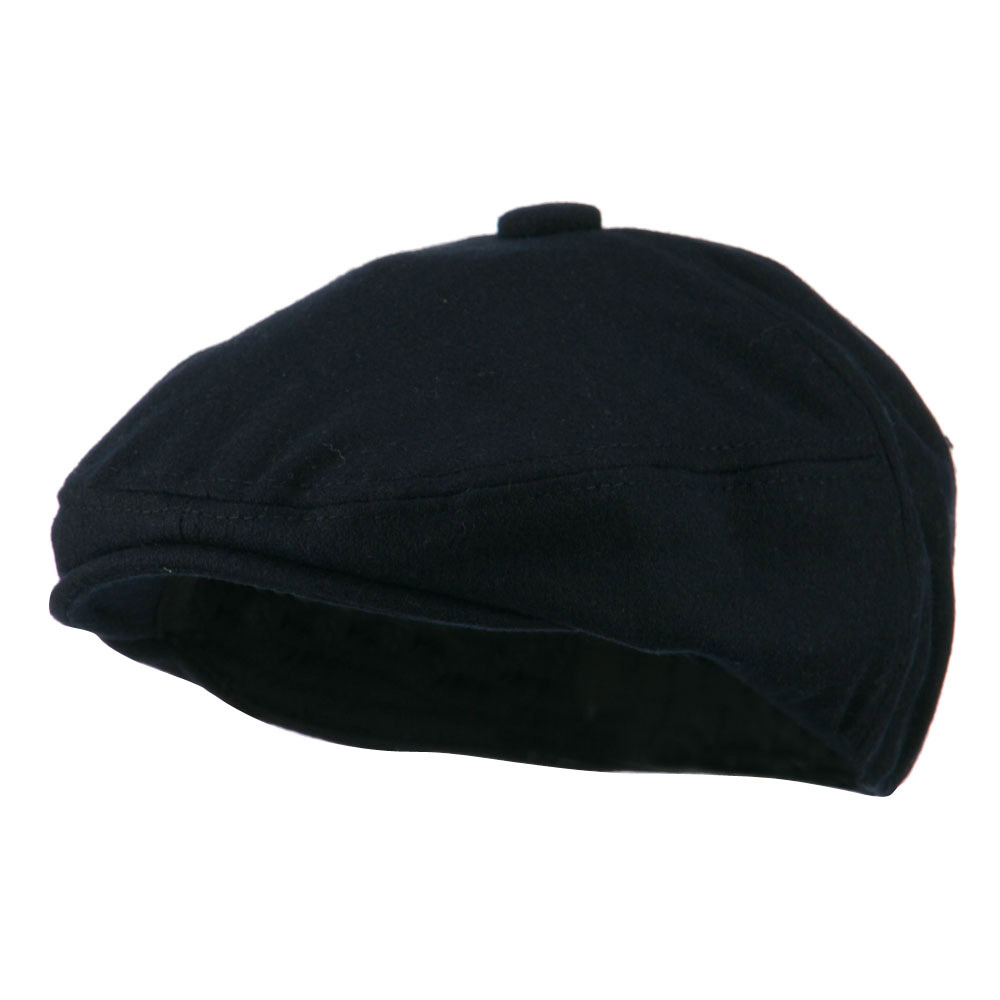 Wool Solid 5 Panel Driver Cap - Navy - Hats and Caps Online Shop - Hip Head Gear
