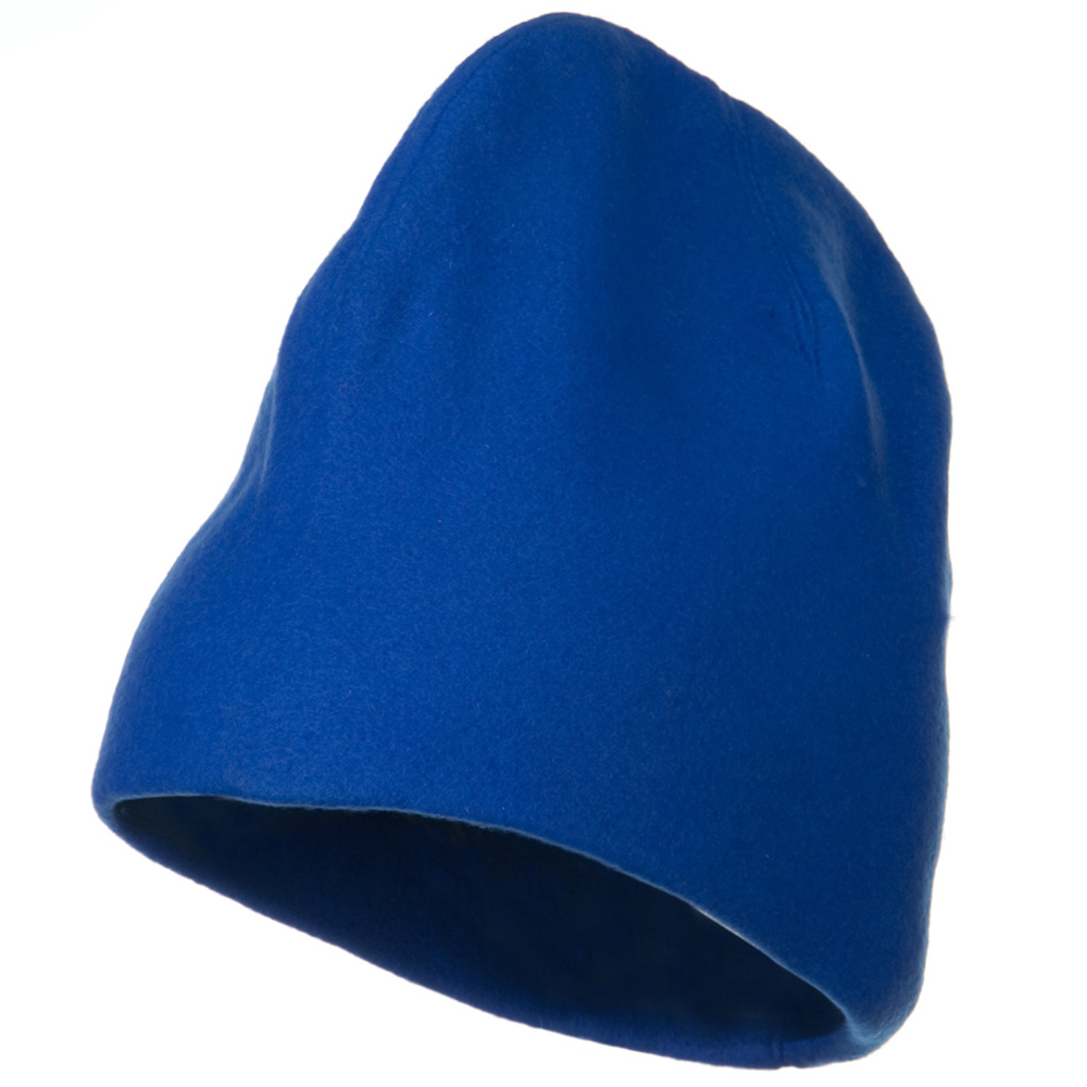 Deluxe Polar Fleece Beanie - Royal - Hats and Caps Online Shop - Hip Head Gear