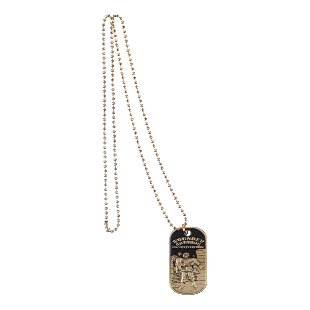 Dog Tags - Bronze Wounded