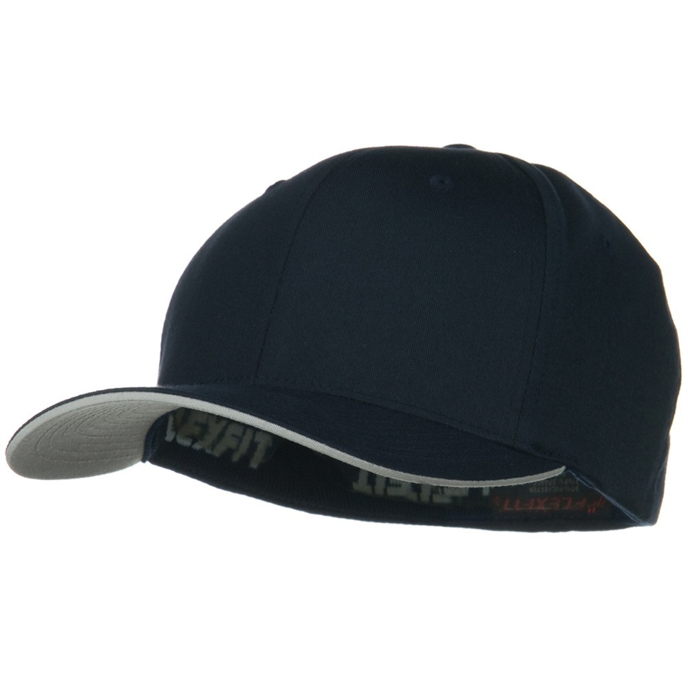 Flexfit Cool and Dry Transvisor Cap - Navy Silver - Hats and Caps Online Shop - Hip Head Gear