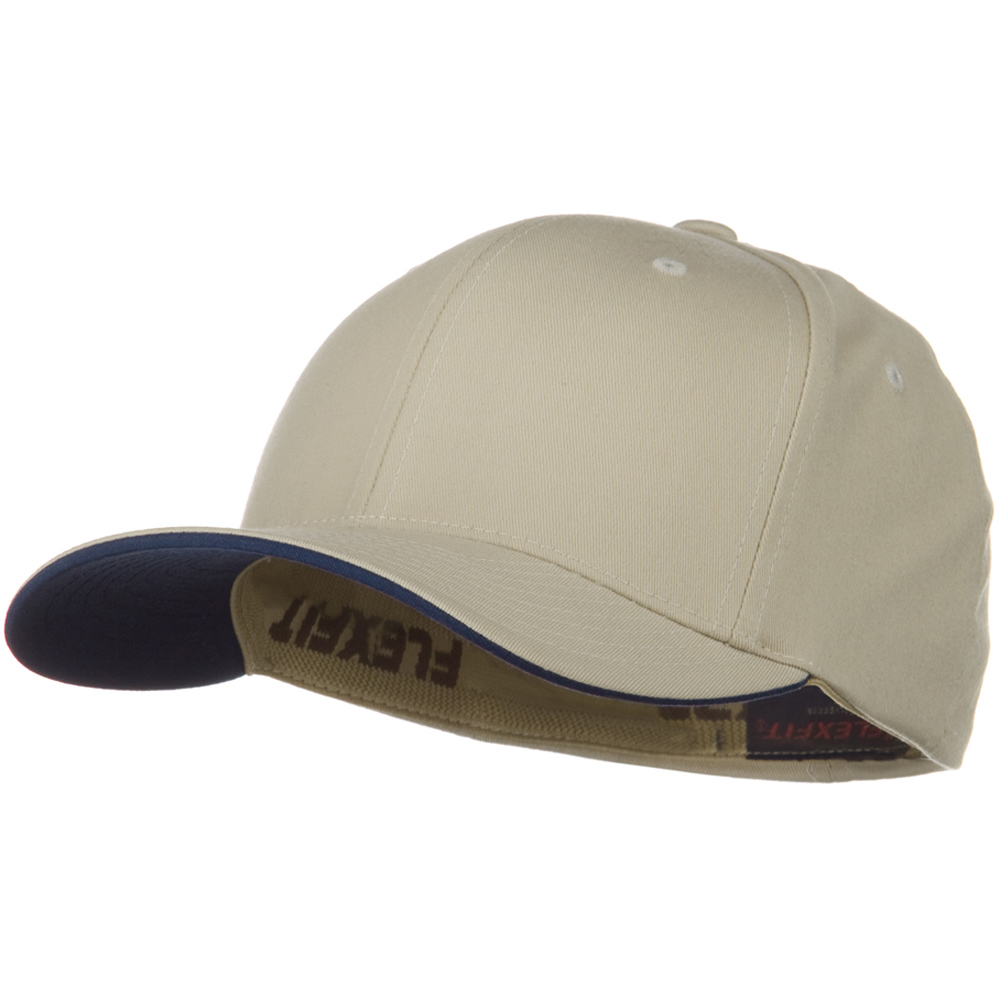 Flexfit Cool and Dry Transvisor Cap - Khaki Navy - Hats and Caps Online Shop - Hip Head Gear