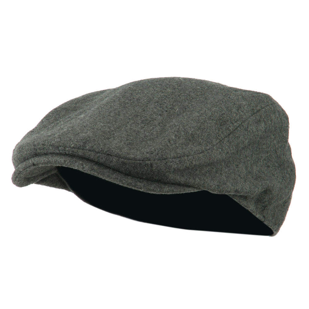 Wool Solid Driver Hat - Light Grey - Hats and Caps Online Shop - Hip Head Gear
