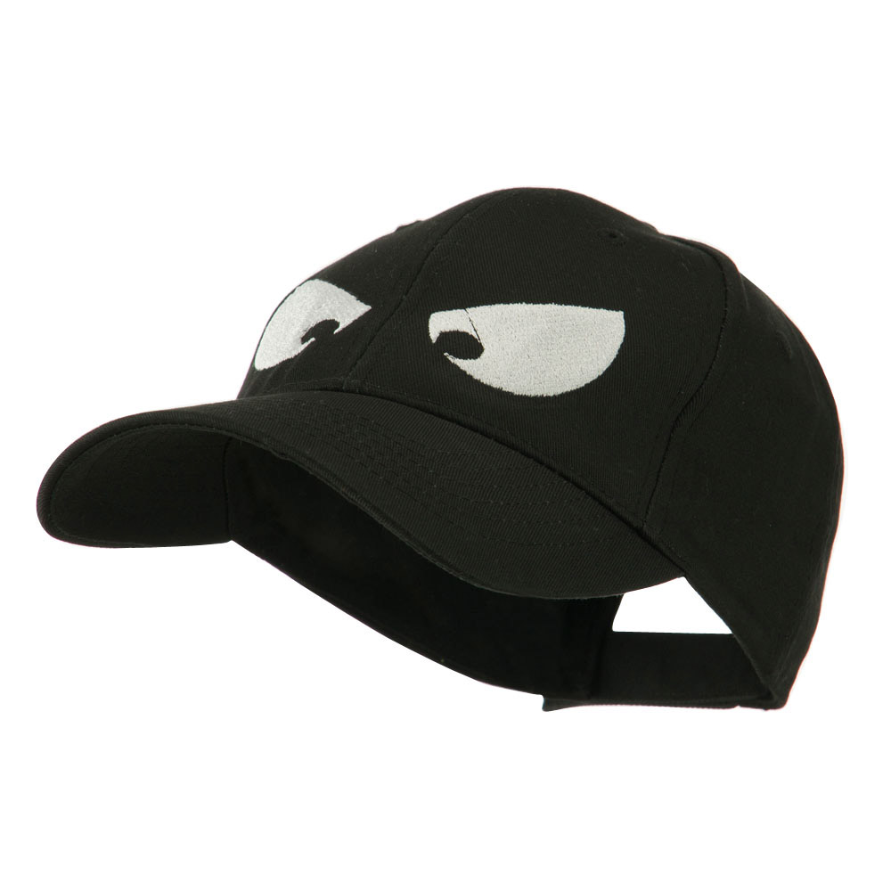 Halloween Huge Eyes Embroidered Cap - Black - Hats and Caps Online Shop - Hip Head Gear