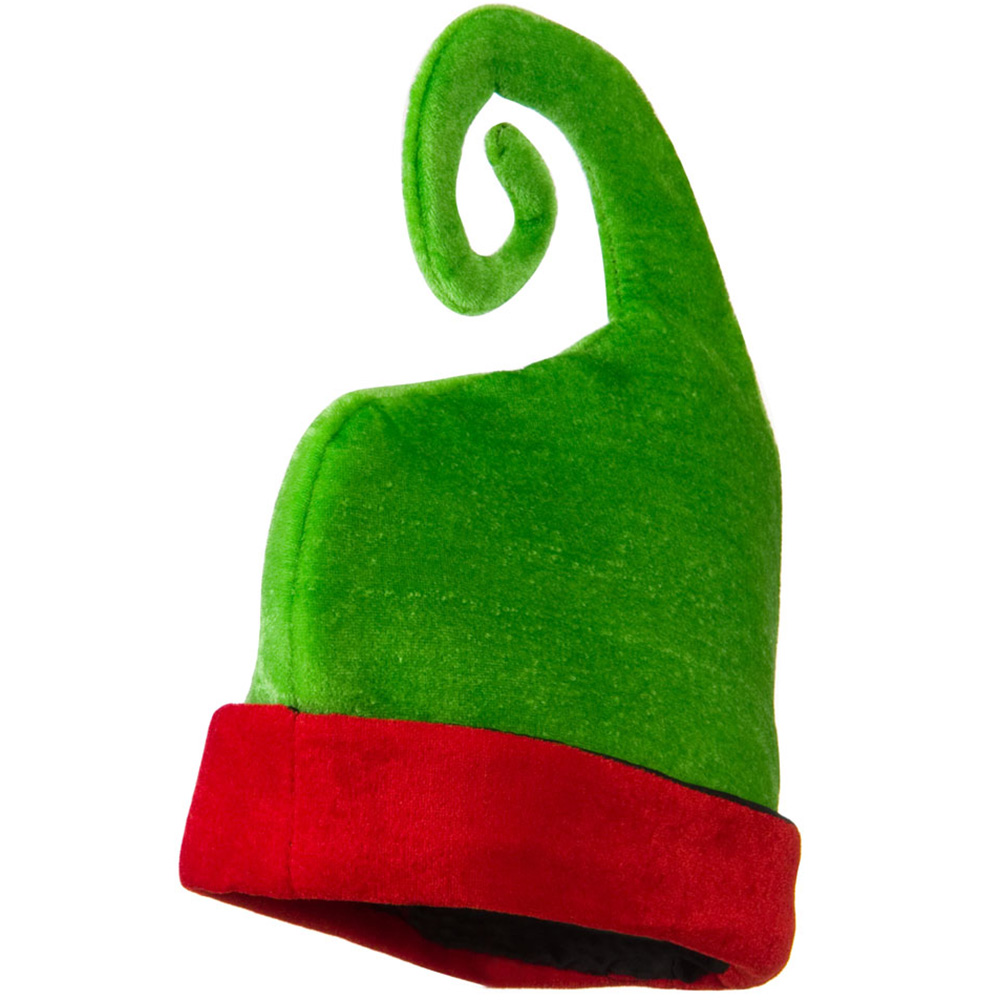 Red and Green Elf Hat - Green Red - Hats and Caps Online Shop - Hip Head Gear