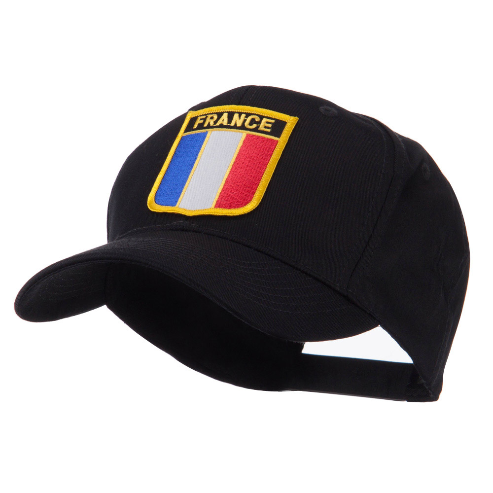 Europe Flag Shield Patch Cap - France - Hats and Caps Online Shop - Hip Head Gear