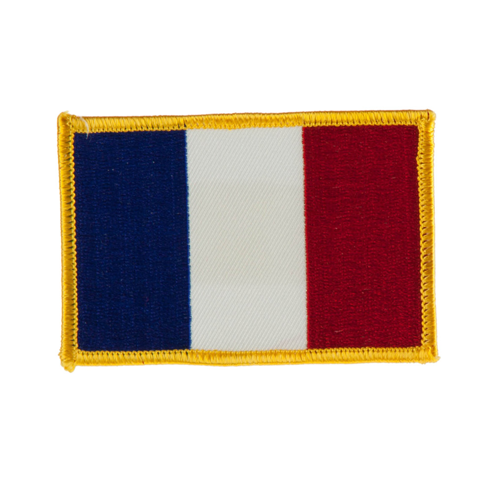 Europe Flag Embroidered Patches - France