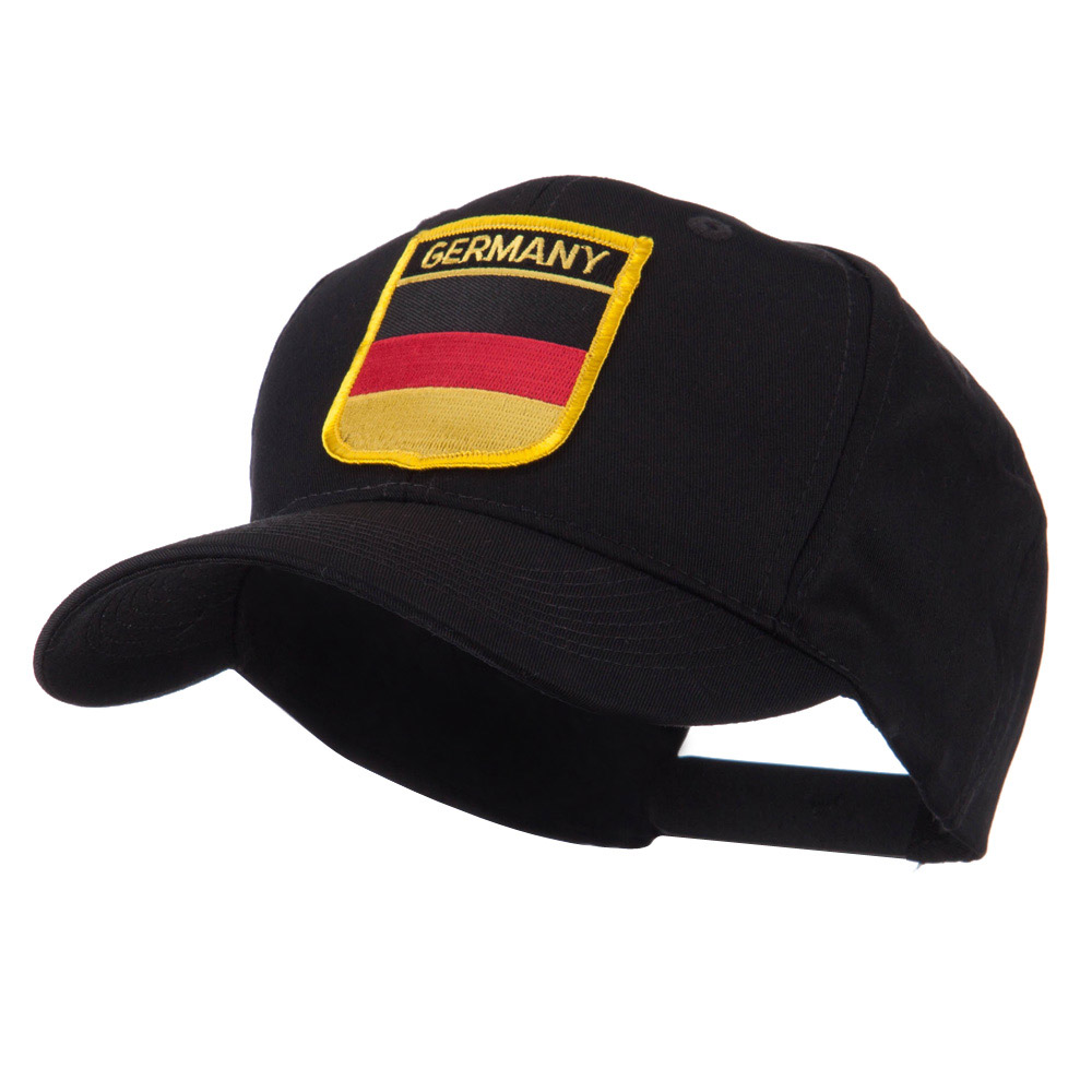 Europe Flag Shield Patch Cap - Germany - Hats and Caps Online Shop - Hip Head Gear