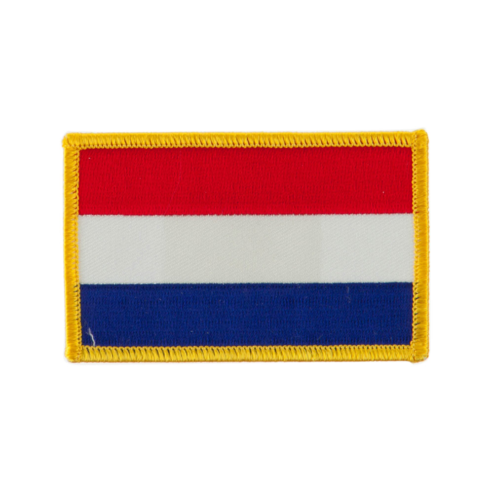 Europe Flag Embroidered Patches - Netherlands
