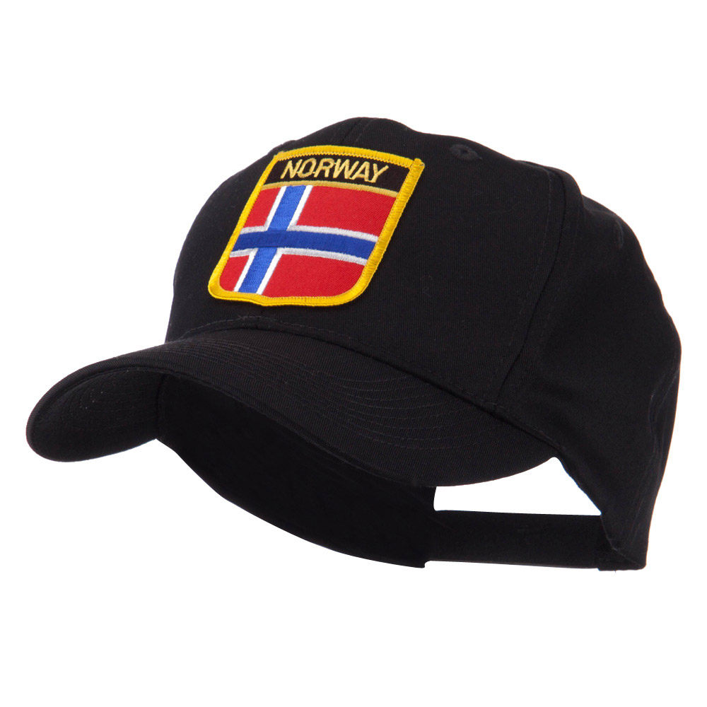 Europe Flag Shield Patch Cap - Norway - Hats and Caps Online Shop - Hip Head Gear