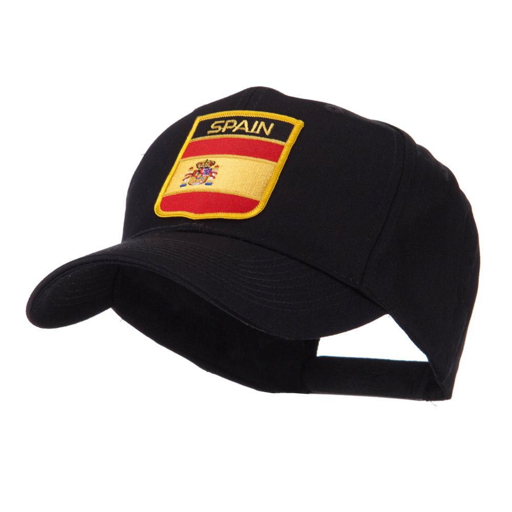 Europe Flag Shield Patch Cap - Spain - Hats and Caps Online Shop - Hip Head Gear