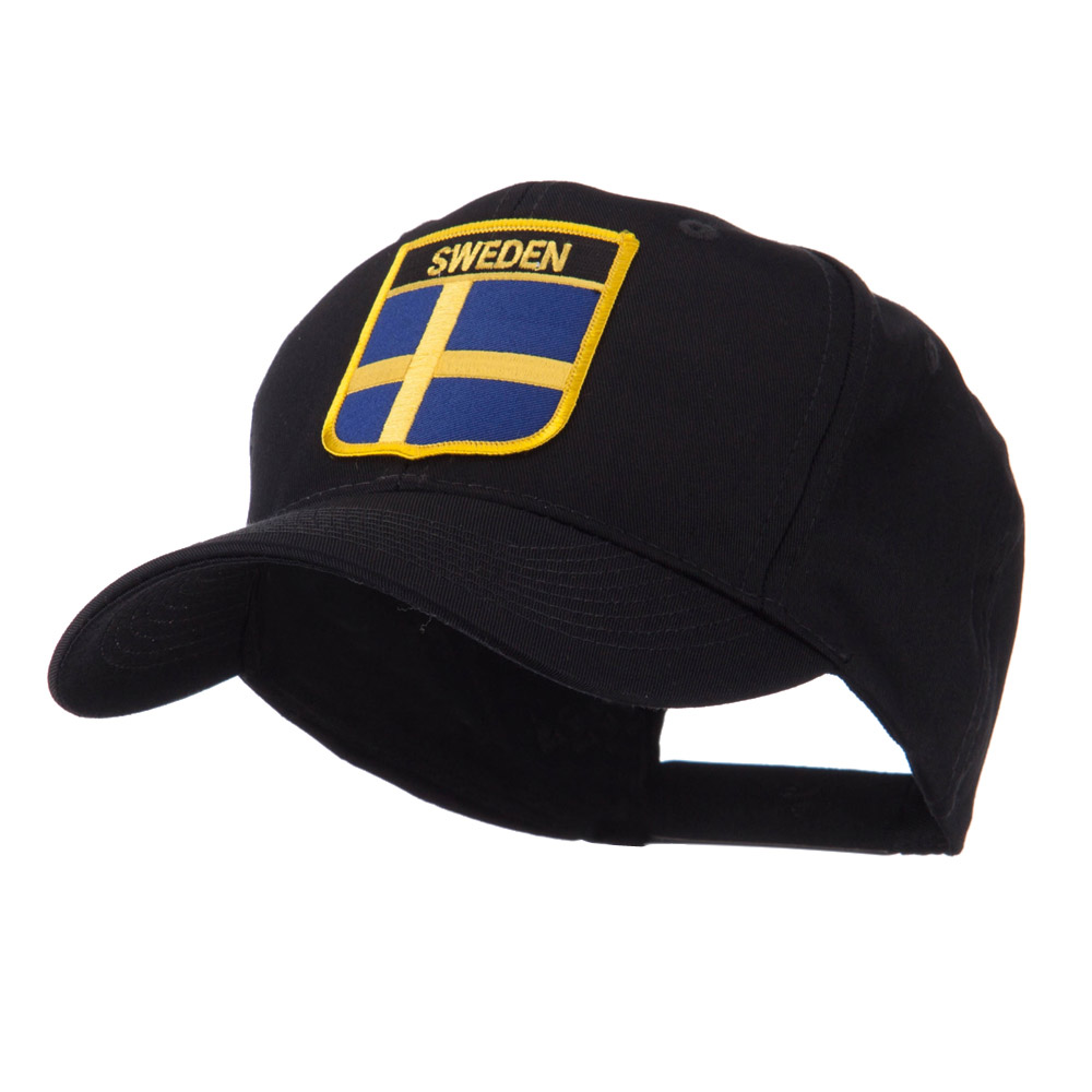Europe Flag Shield Patch Cap - Sweden - Hats and Caps Online Shop - Hip Head Gear