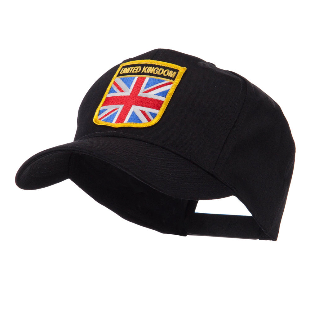 Europe Flag Shield Patch Cap - United Kingdom - Hats and Caps Online Shop - Hip Head Gear