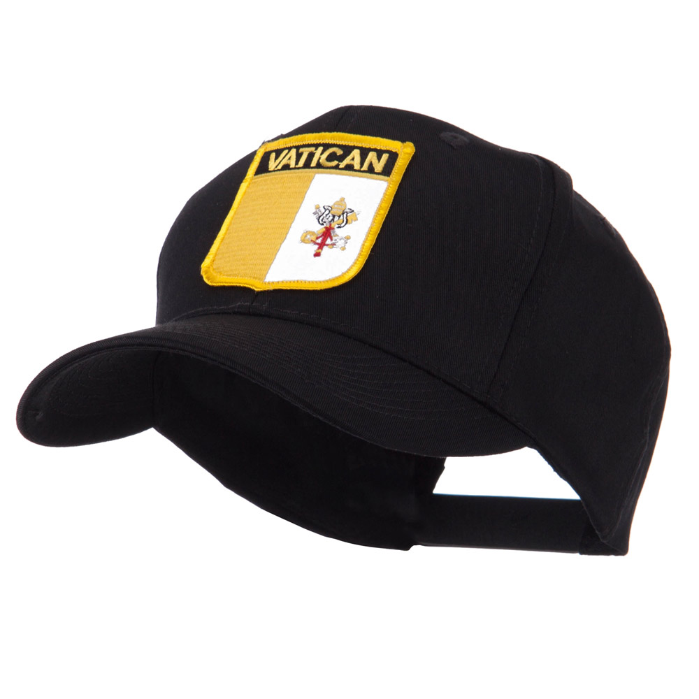 Europe Flag Shield Patch Cap - Vatican - Hats and Caps Online Shop - Hip Head Gear