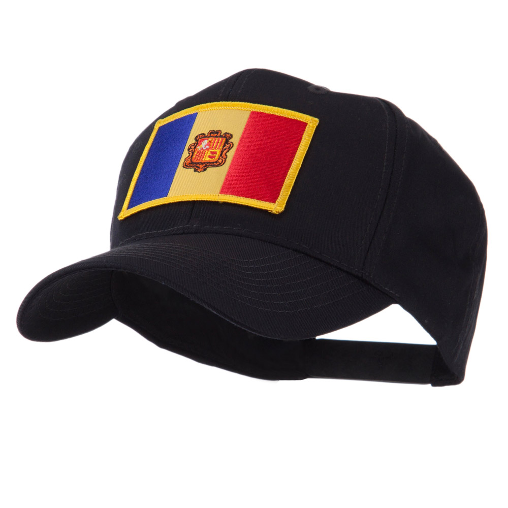 Europe Flag Embroidered Patch Cap - Andora - Hats and Caps Online Shop - Hip Head Gear