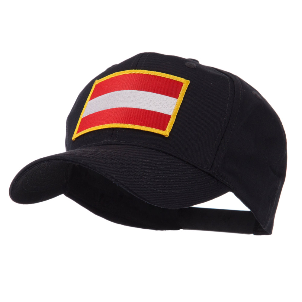 Europe Flag Embroidered Patch Cap - Austria - Hats and Caps Online Shop - Hip Head Gear