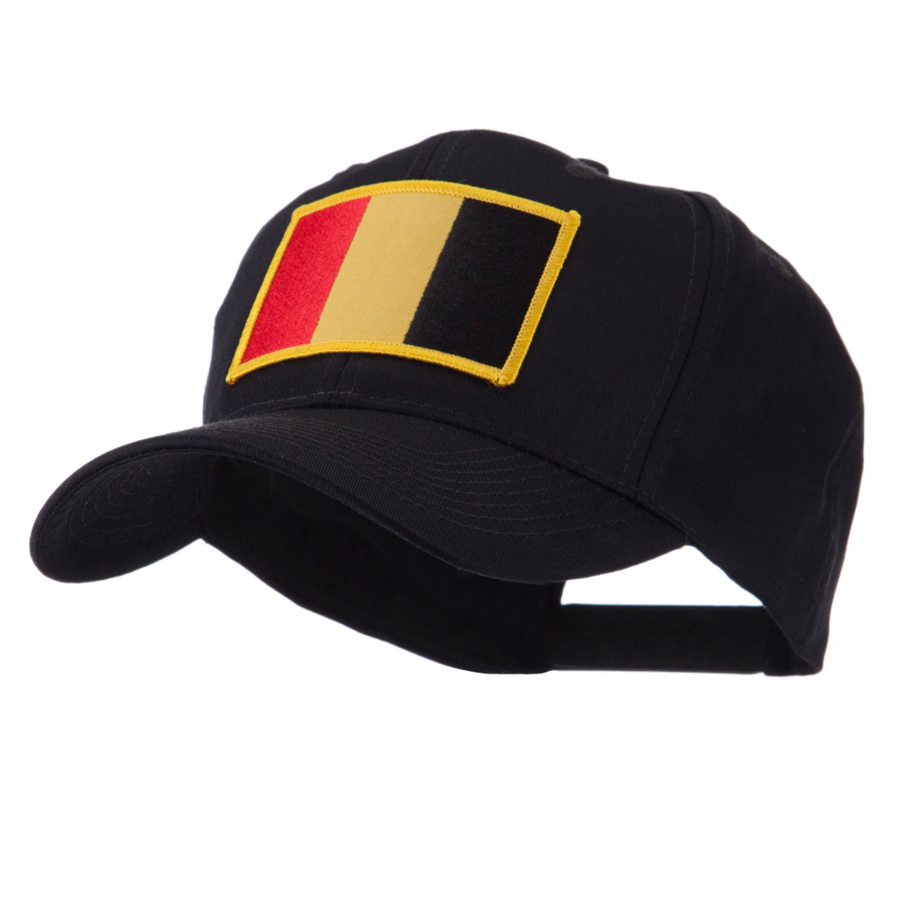 Europe Flag Embroidered Patch Cap - Belgium - Hats and Caps Online Shop - Hip Head Gear