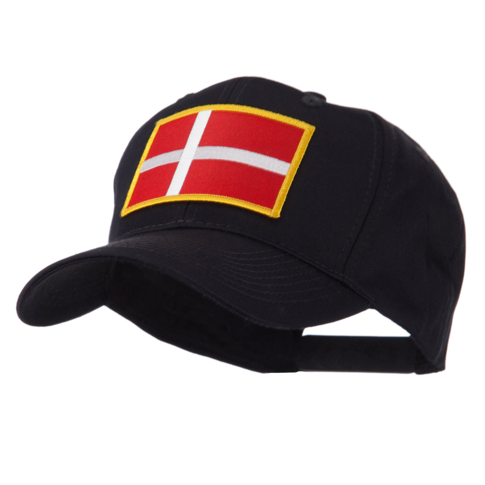 Europe Flag Embroidered Patch Cap - Denmark - Hats and Caps Online Shop - Hip Head Gear