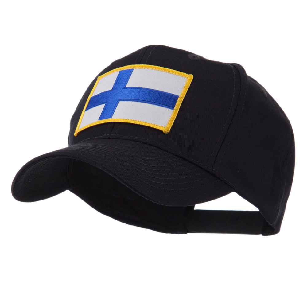Europe Flag Embroidered Patch Cap - Finland - Hats and Caps Online Shop - Hip Head Gear