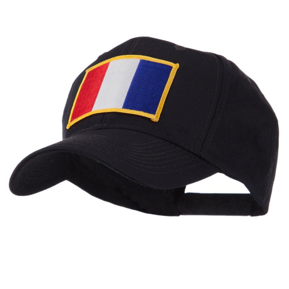 Europe Flag Embroidered Patch Cap - France - Hats and Caps Online Shop - Hip Head Gear