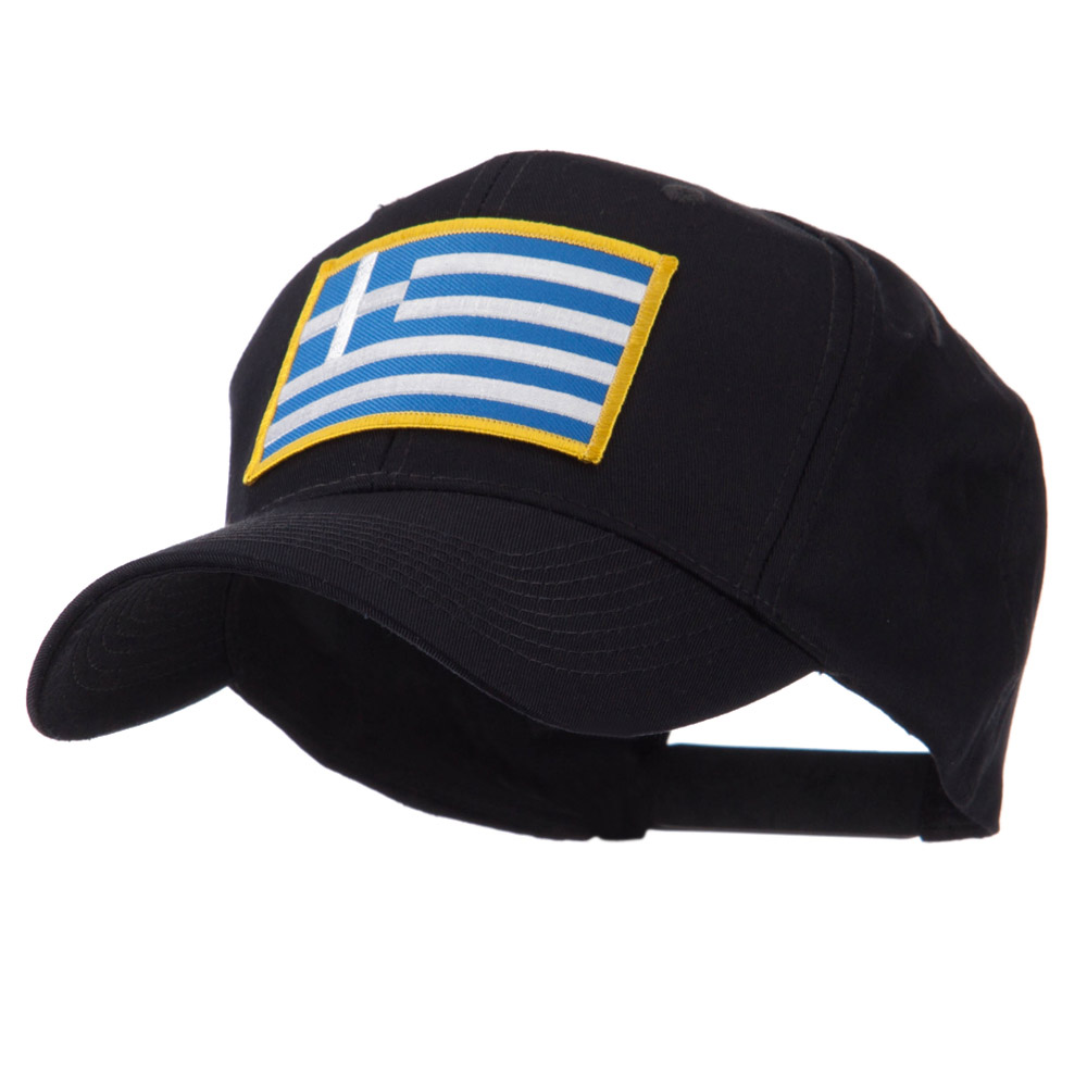 Europe Flag Embroidered Patch Cap - Greece - Hats and Caps Online Shop - Hip Head Gear