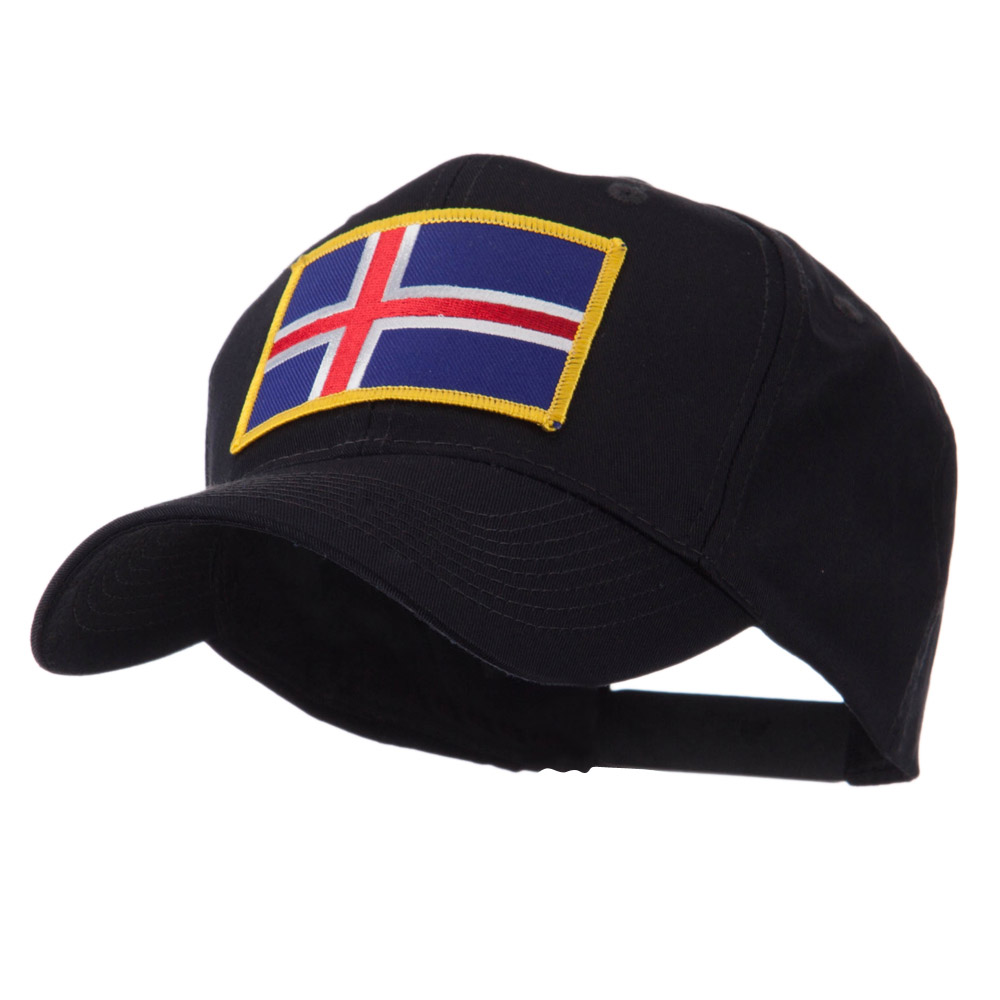 Europe Flag Embroidered Patch Cap - Iceland - Hats and Caps Online Shop - Hip Head Gear