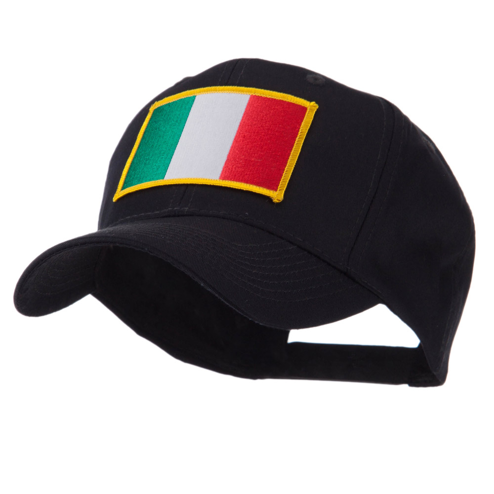 Europe Flag Embroidered Patch Cap - Italy - Hats and Caps Online Shop - Hip Head Gear