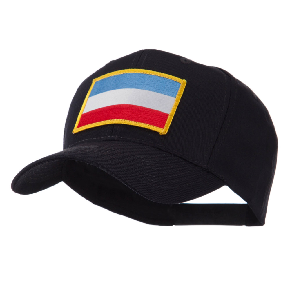Europe Flag Embroidered Patch Cap - Luxembourg - Hats and Caps Online Shop - Hip Head Gear