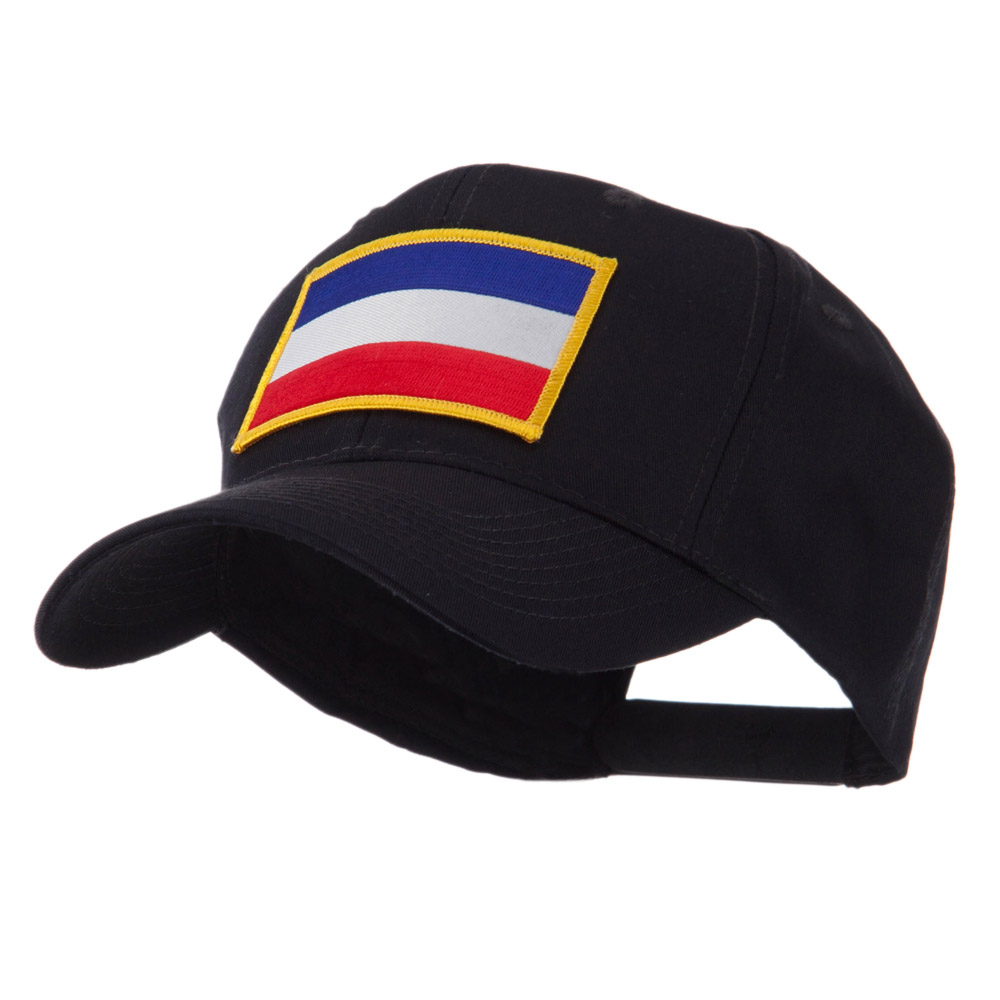 Europe Flag Embroidered Patch Cap - Netherlands - Hats and Caps Online Shop - Hip Head Gear
