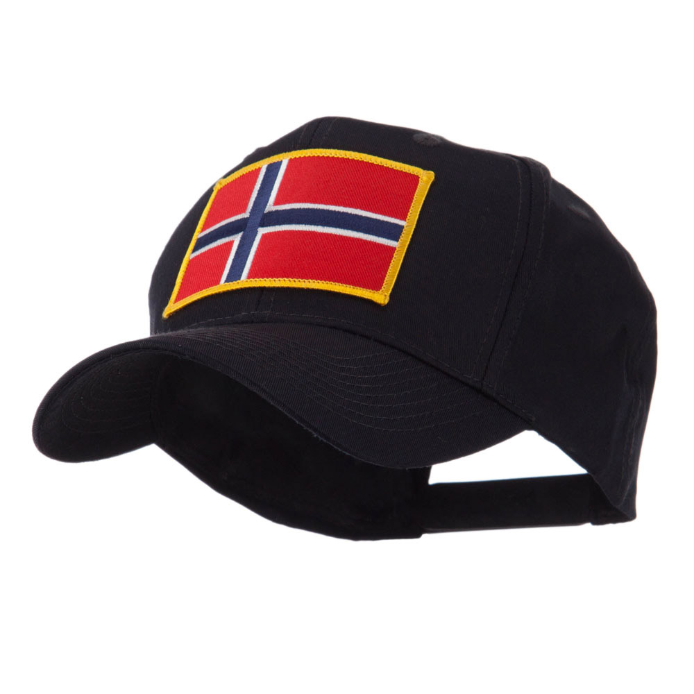 Europe Flag Embroidered Patch Cap - Norway - Hats and Caps Online Shop - Hip Head Gear