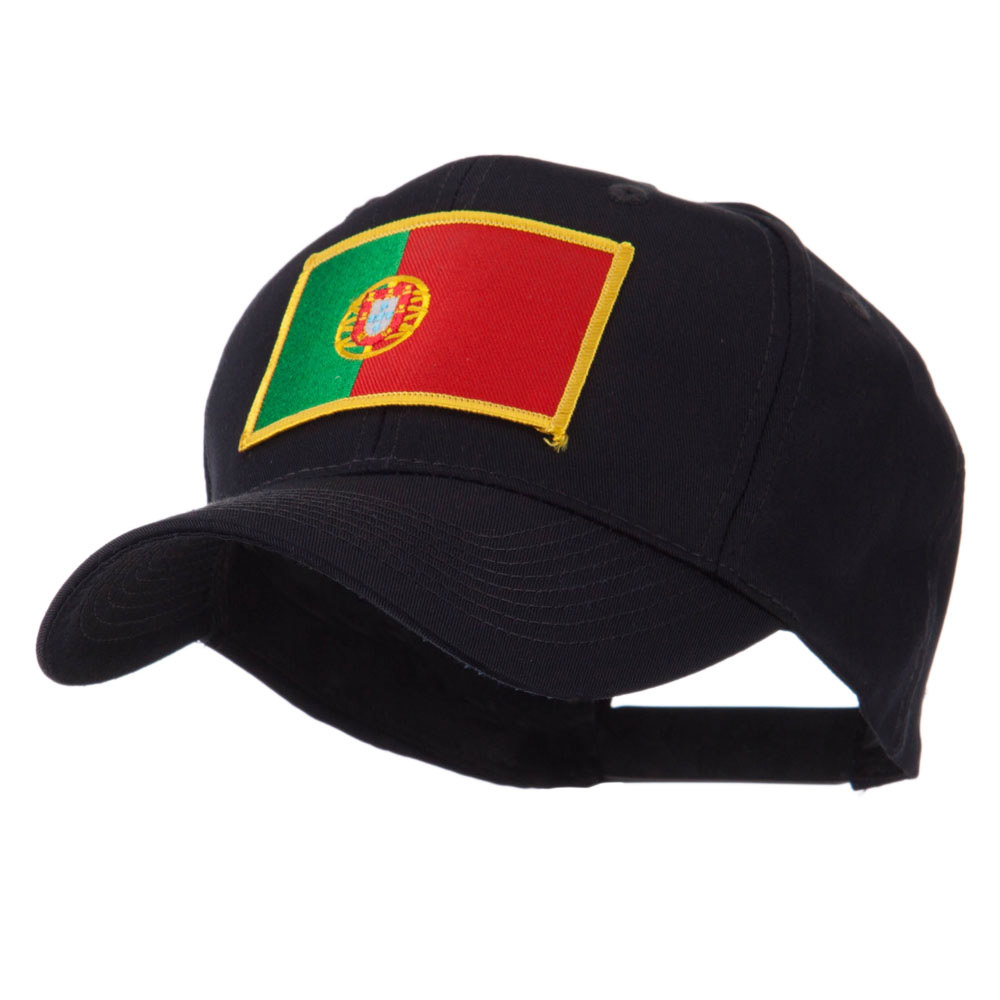 Europe Flag Embroidered Patch Cap - Portugal - Hats and Caps Online Shop - Hip Head Gear