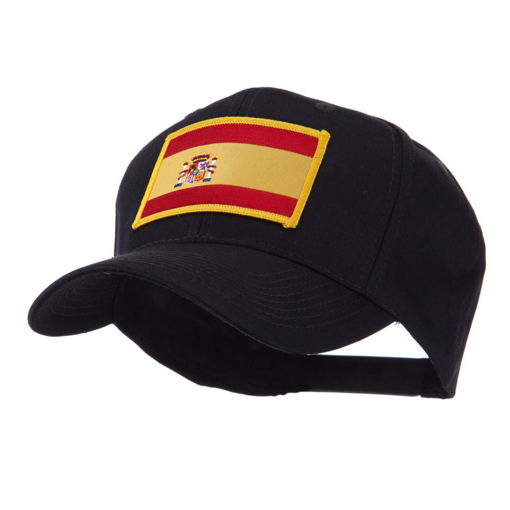 Europe Flag Embroidered Patch Cap - Spain - Hats and Caps Online Shop - Hip Head Gear