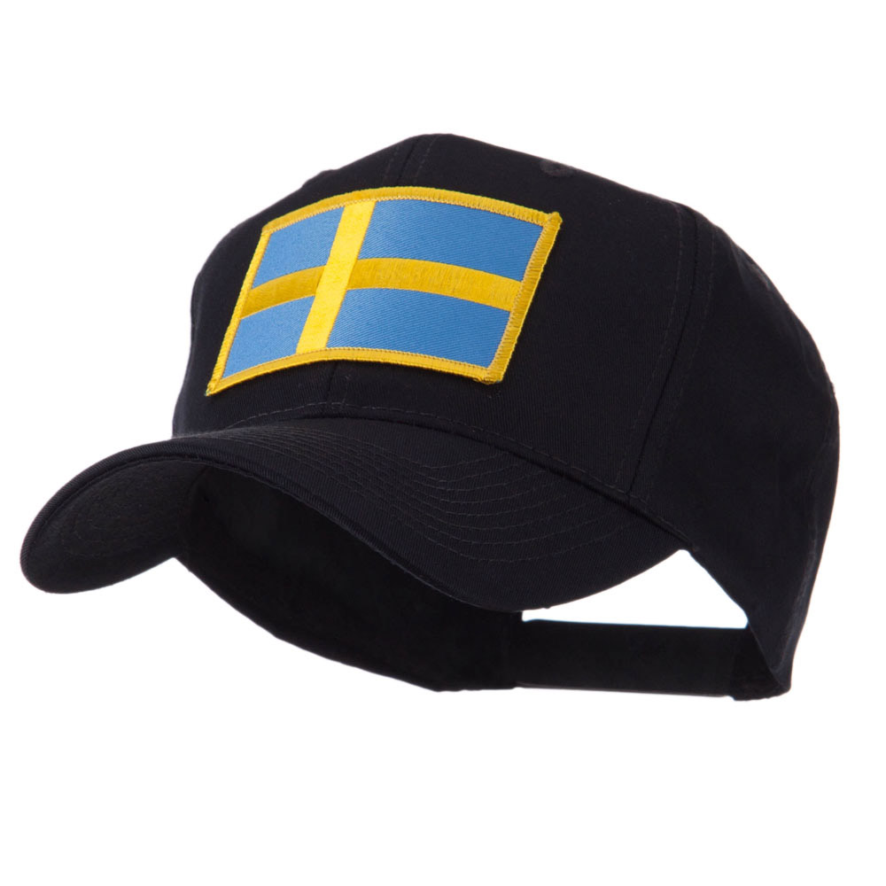 Europe Flag Embroidered Patch Cap - Sweden - Hats and Caps Online Shop - Hip Head Gear