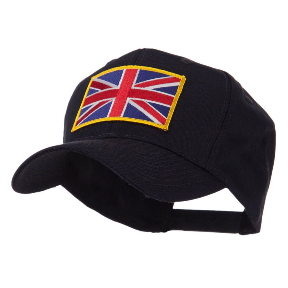Europe Flag Embroidered Patch Cap - United Kingdom - Hats and Caps Online Shop - Hip Head Gear