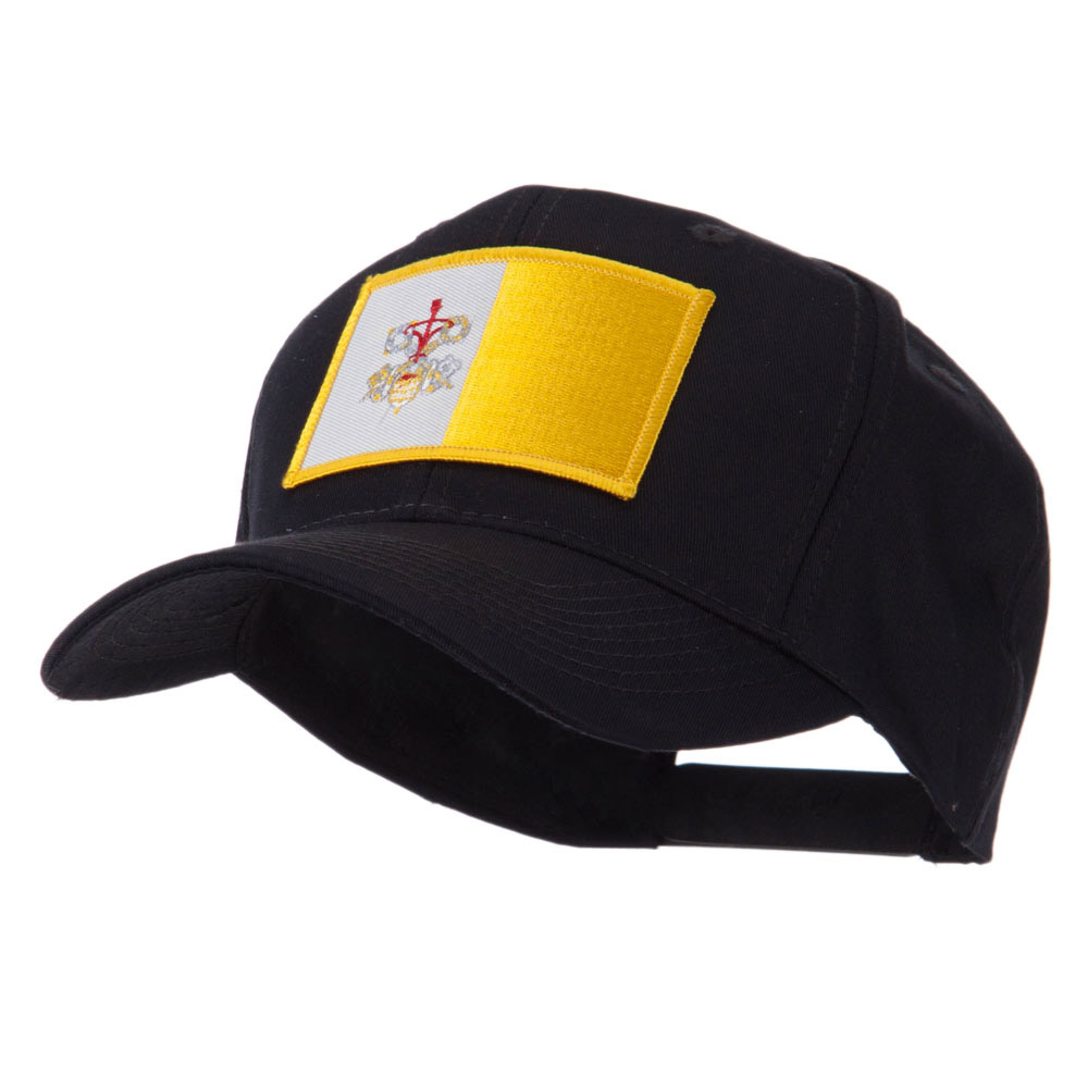 Europe Flag Embroidered Patch Cap - Vatican City - Hats and Caps Online Shop - Hip Head Gear