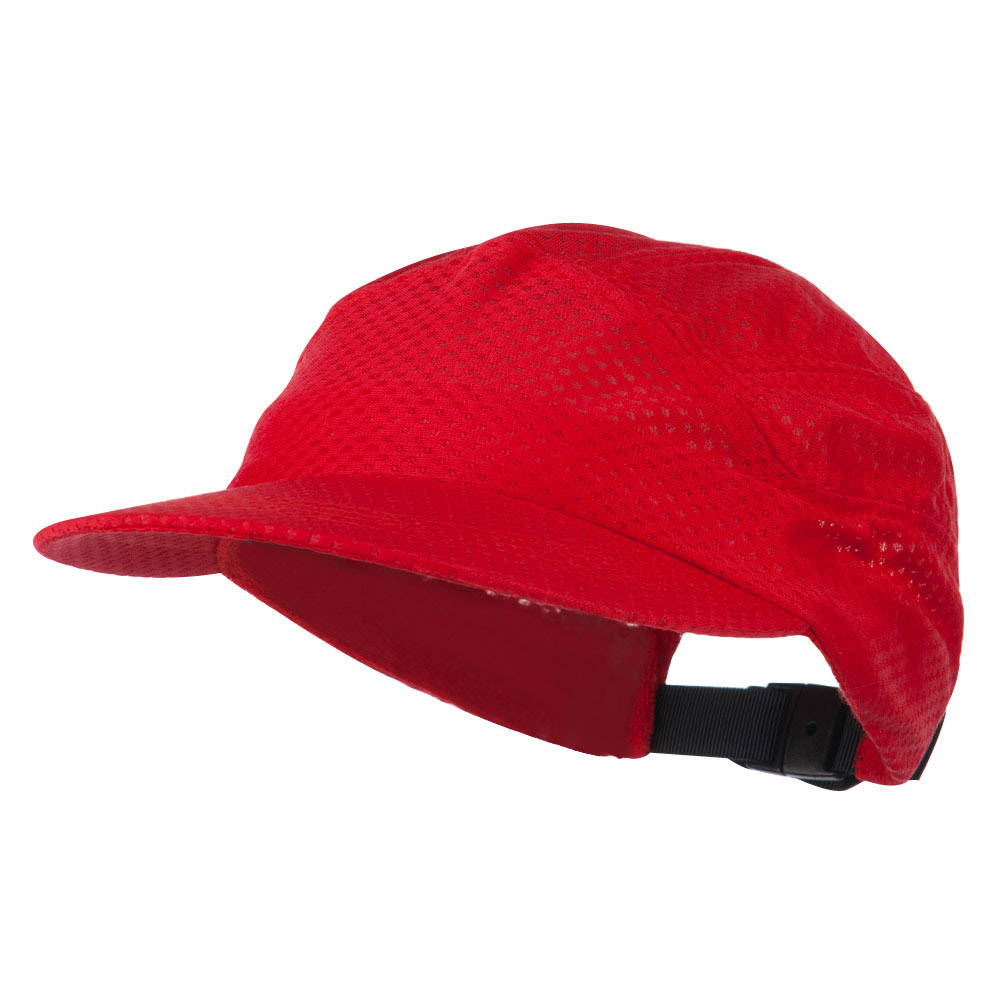 Athletic Mesh Running Cap - Red - Hats and Caps Online Shop - Hip Head Gear