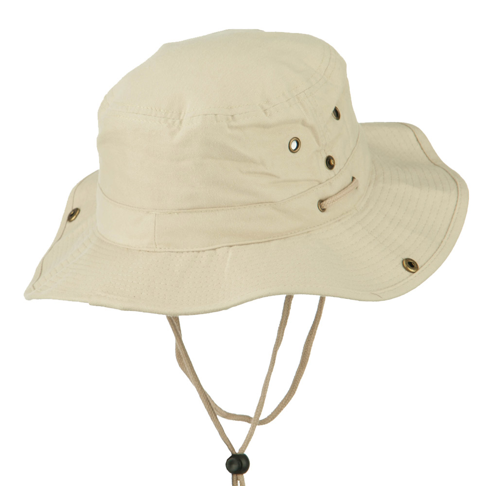 Fishing Hat (01)-Beige - Hats and Caps Online Shop - Hip Head Gear
