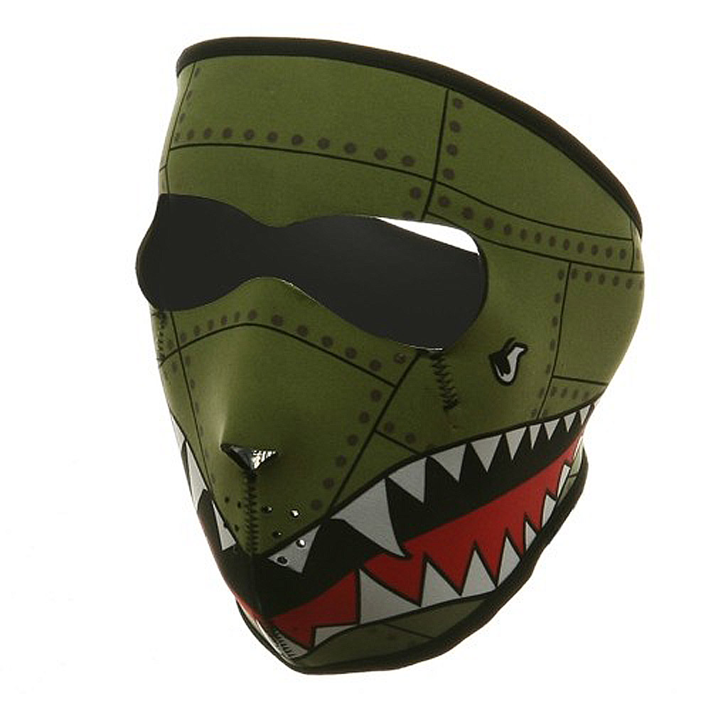 Neoprene Full Face Mask - Bomber - Hats and Caps Online Shop - Hip Head Gear