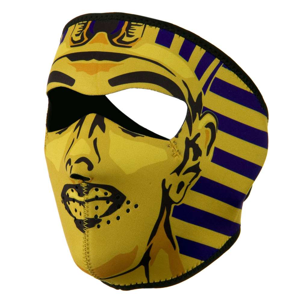 Neoprene Full Face Mask - King Tut - Hats and Caps Online Shop - Hip Head Gear