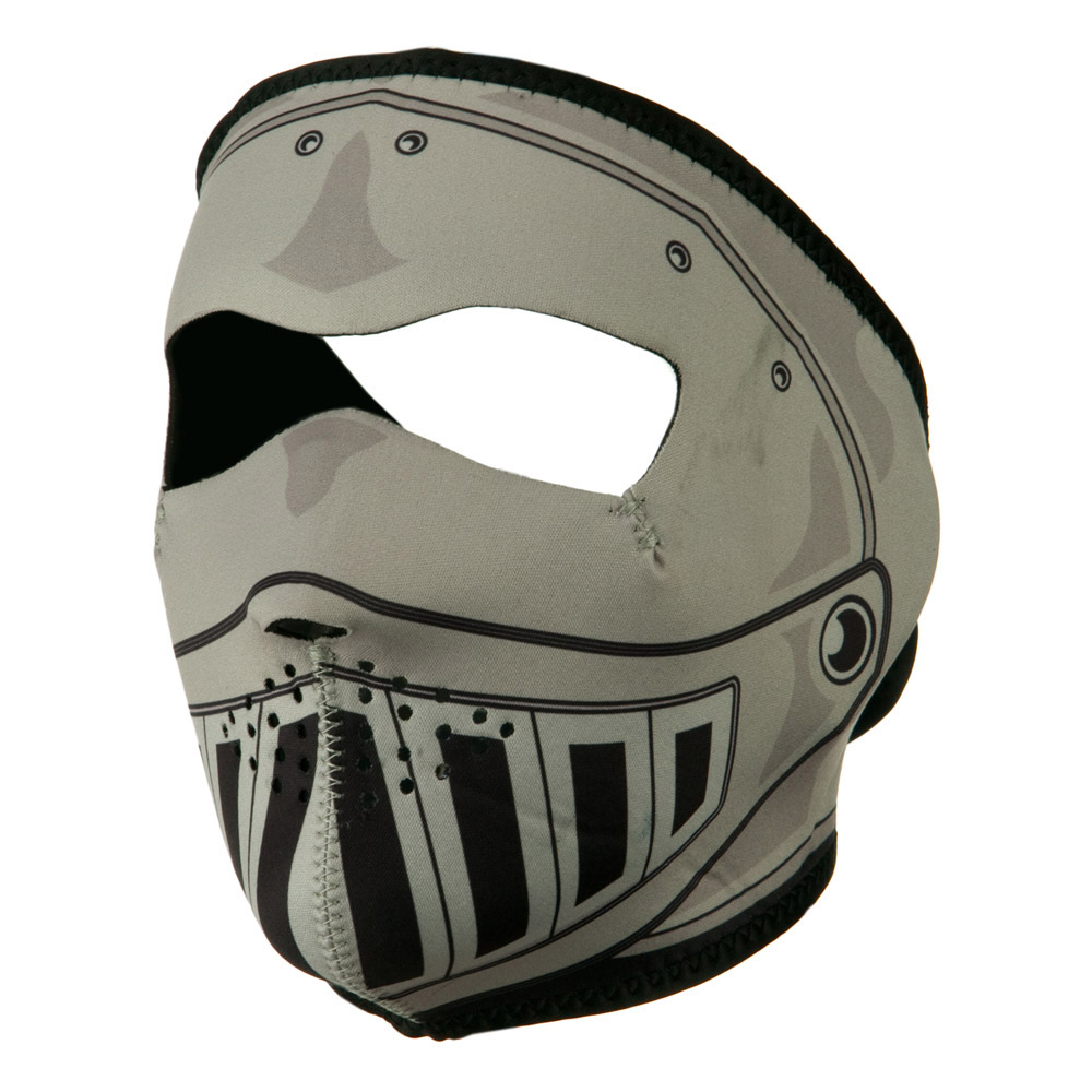 Neoprene Full Face Mask - Knight - Hats and Caps Online Shop - Hip Head Gear
