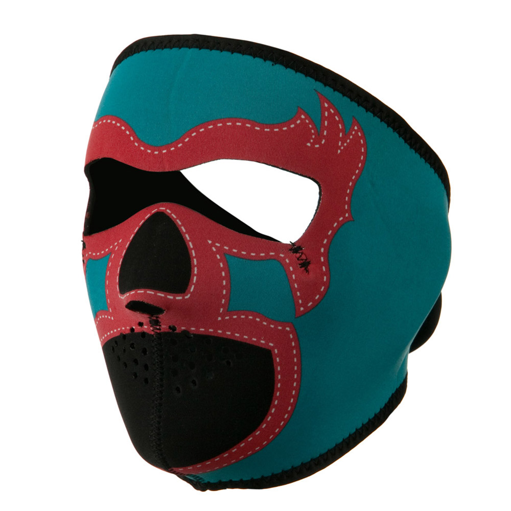 Neoprene Full Face Mask - Lucha Libre - Hats and Caps Online Shop - Hip Head Gear