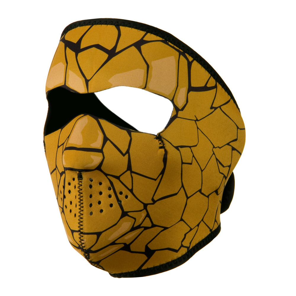 Neoprene Full Face Mask - Rock Monster - Hats and Caps Online Shop - Hip Head Gear