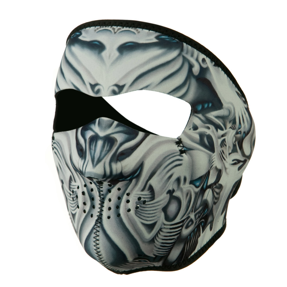 Neoprene Full Face Mask - Biomechanical - Hats and Caps Online Shop - Hip Head Gear