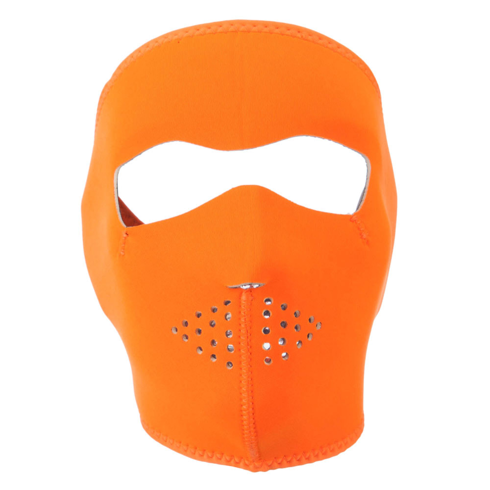 Neoprene Full Face Mask - High Visibility Orange - Hats and Caps Online Shop - Hip Head Gear