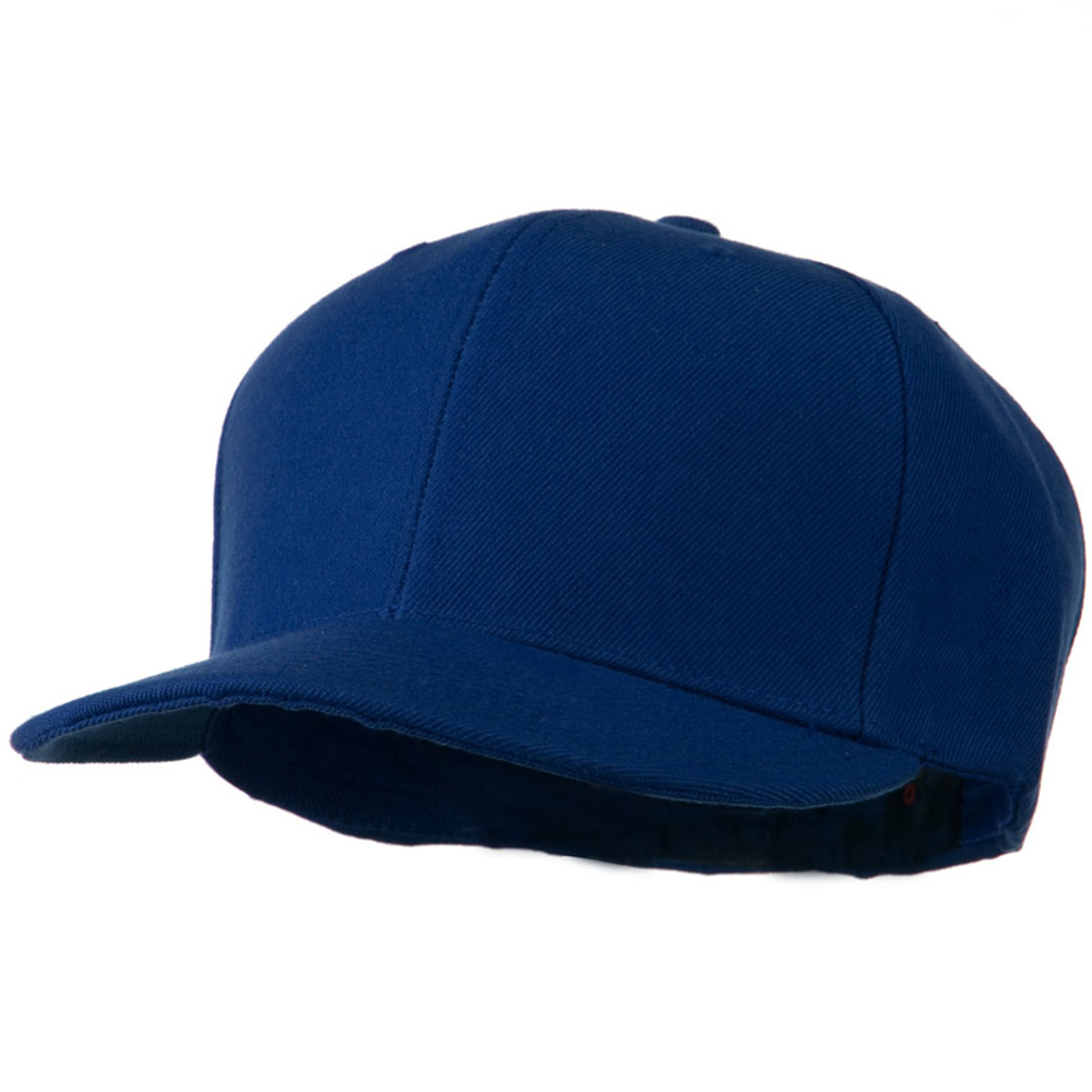 Flat Bill Fitted Cap - Royal - Hats and Caps Online Shop - Hip Head Gear