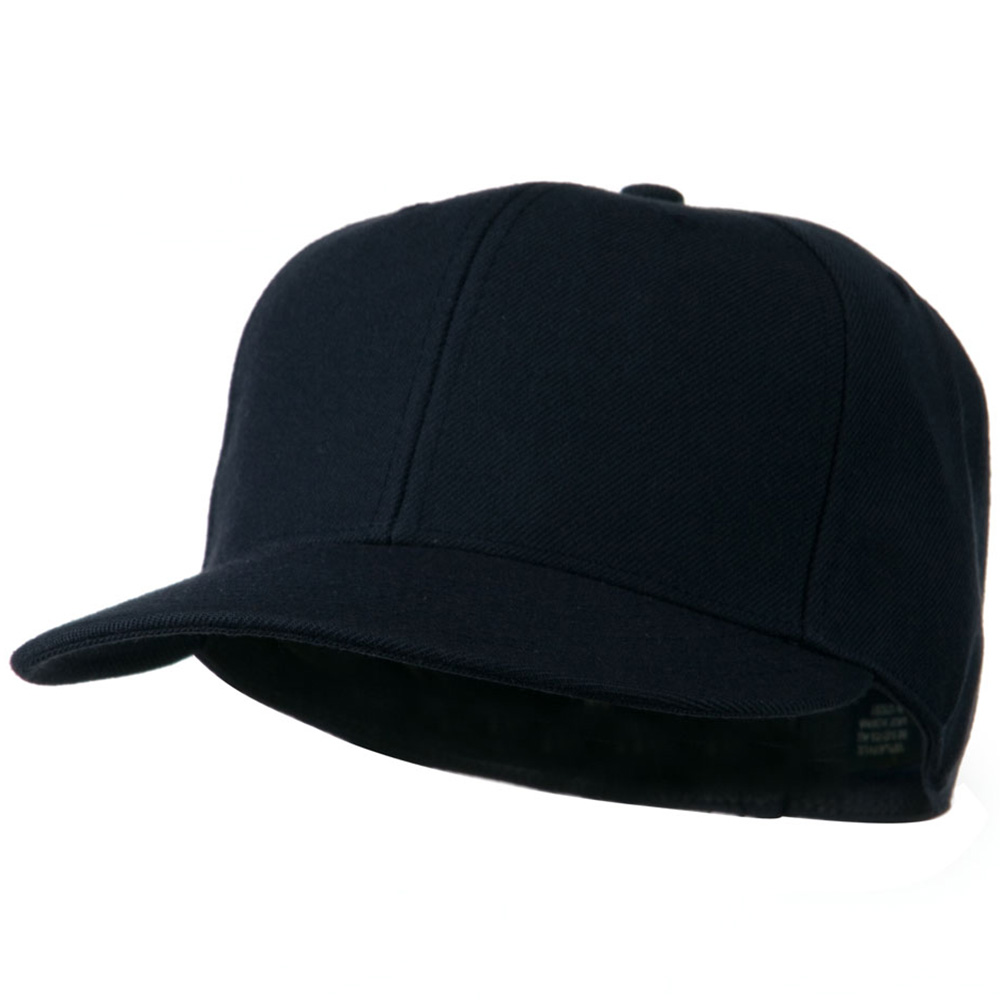 Flat Bill Fitted Cap - Navy - Hats and Caps Online Shop - Hip Head Gear