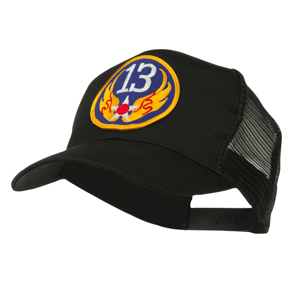 Air Force Division Embroidered Military Patch Cap - 13th - Hats and Caps Online Shop - Hip Head Gear